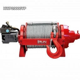 2 Speed Hydraulic Winch 20000 lb For Wreckers Or Trailers With Two speed and Clutch 2 in 1 Handgrip
